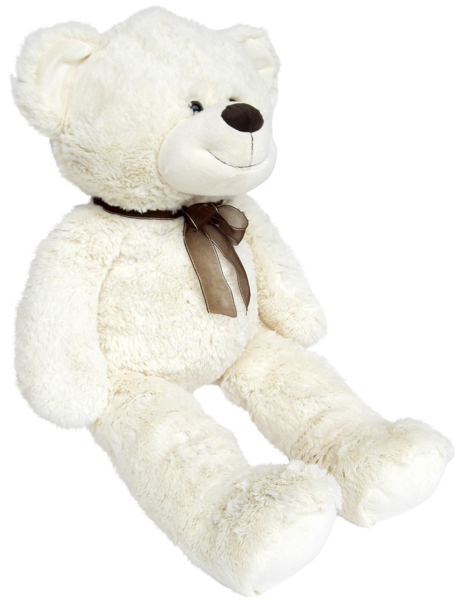wagner 9021 xxl teddyb r 100 cm wei pl schb r teddy. Black Bedroom Furniture Sets. Home Design Ideas